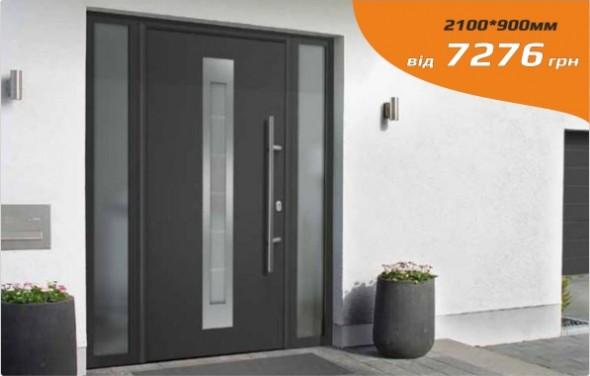 Single and double swing glass doors